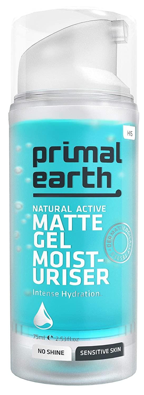 Primal Earth Matte Gel After-Shave Moisturiser, 75ml (2.5 oz)