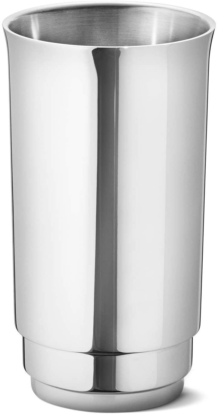 Georg Jensen Manhattan Wine Cooler, Mirror Polished Stainless Steel, 20cm