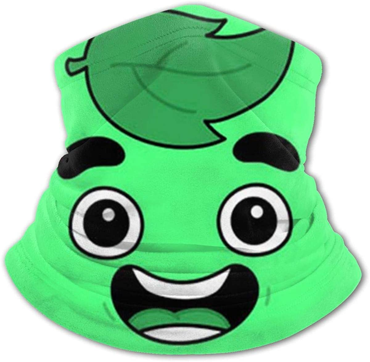 Cooling Neck Gaiters Face Cover for Boys Girls Outdoor - Scarf Guava Juice Bandana Black