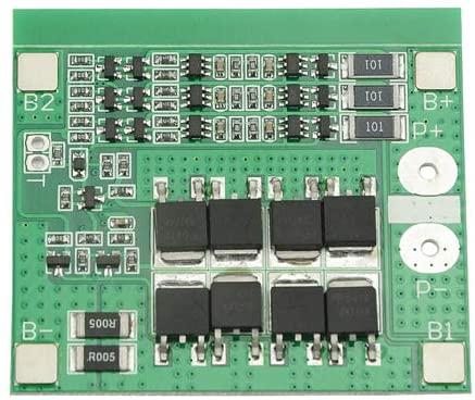 XLX 3 Series 12V 18650 Lithium Battery Protection Plate 11.1V 12.6V Belt Balance 25A Overcurrent Overdischarge Protection PCB Protection Board