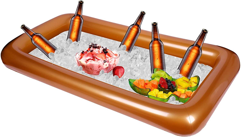 Bulk 3 Pack Metallic Gold Inflatable Cooler