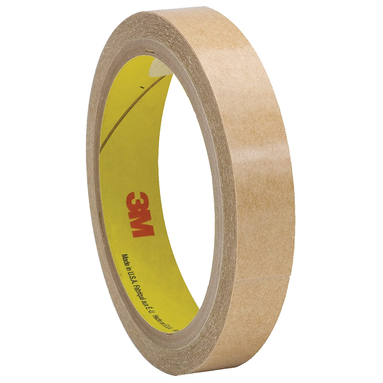 3M 950 Adhesive Transfer Tape, Hand Rolls, 5.0 Mil, 1/2