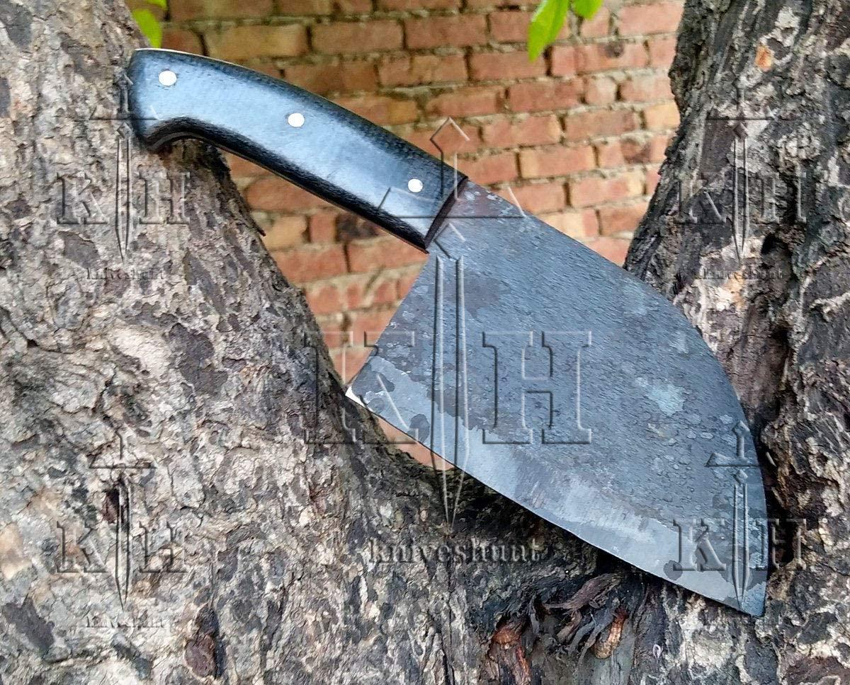 DAMASCUS KNIFE CUSTOM HAND MADE - 11.50