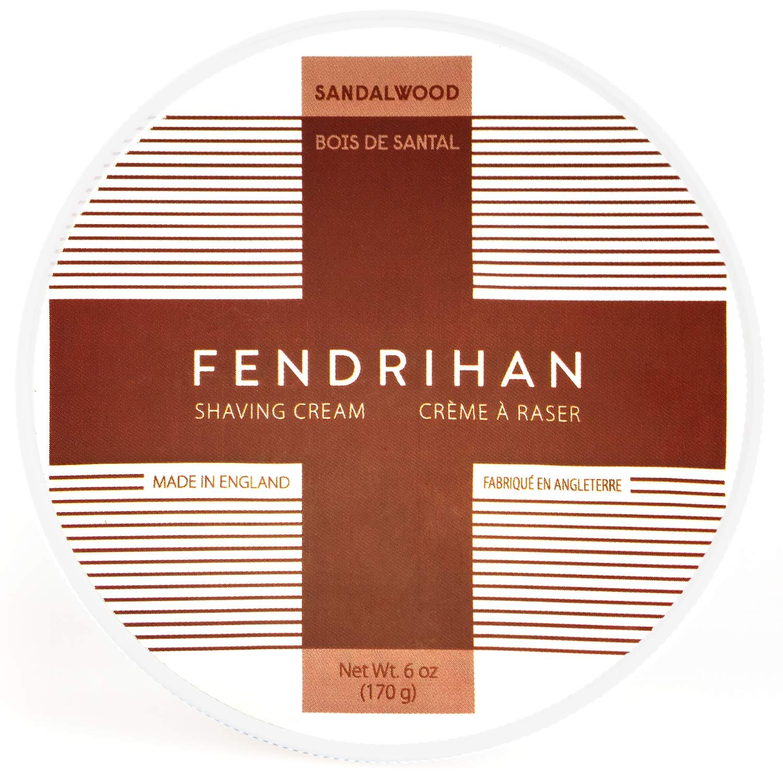Fendrihan Sandalwood Shaving Cream 6 Ounce (Made in England)