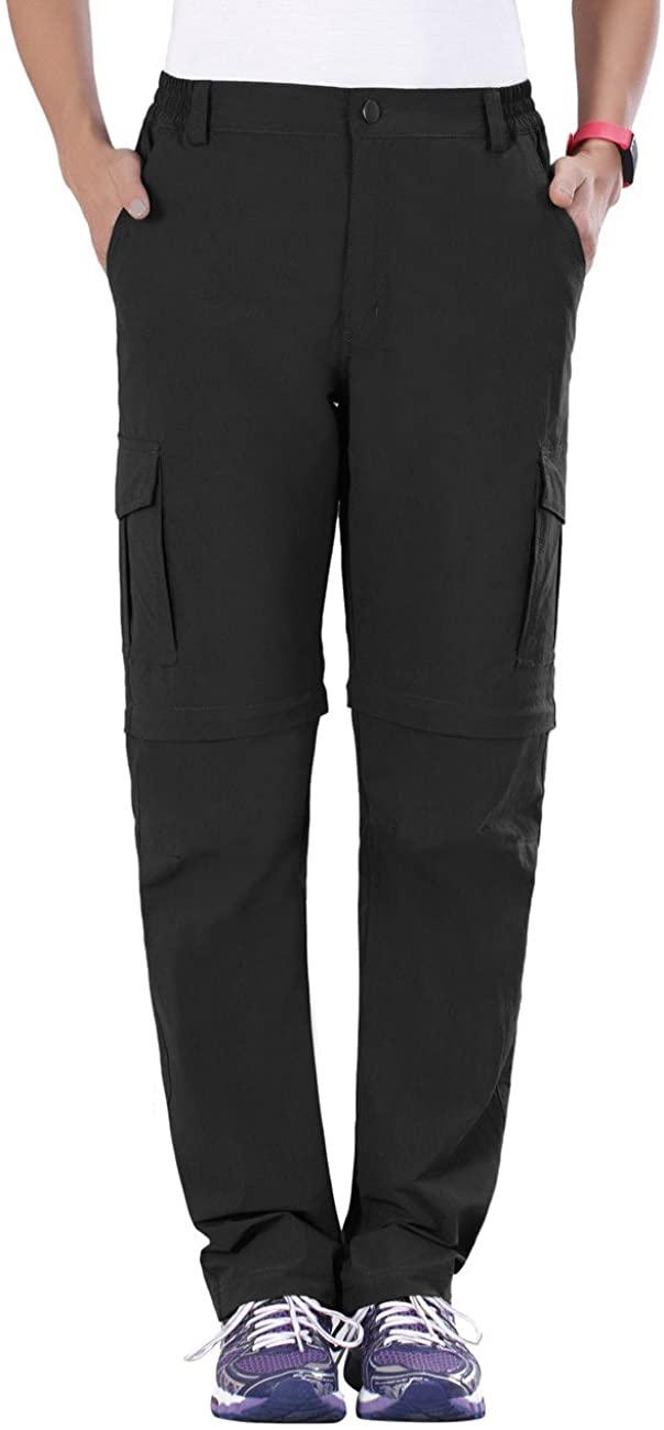 Nonwe Women's Outdoor Water-Resistant Quick Dry Convertible Cargo Pants