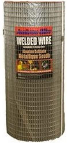 Welded Wire,24x100' 1/2x1 16ga