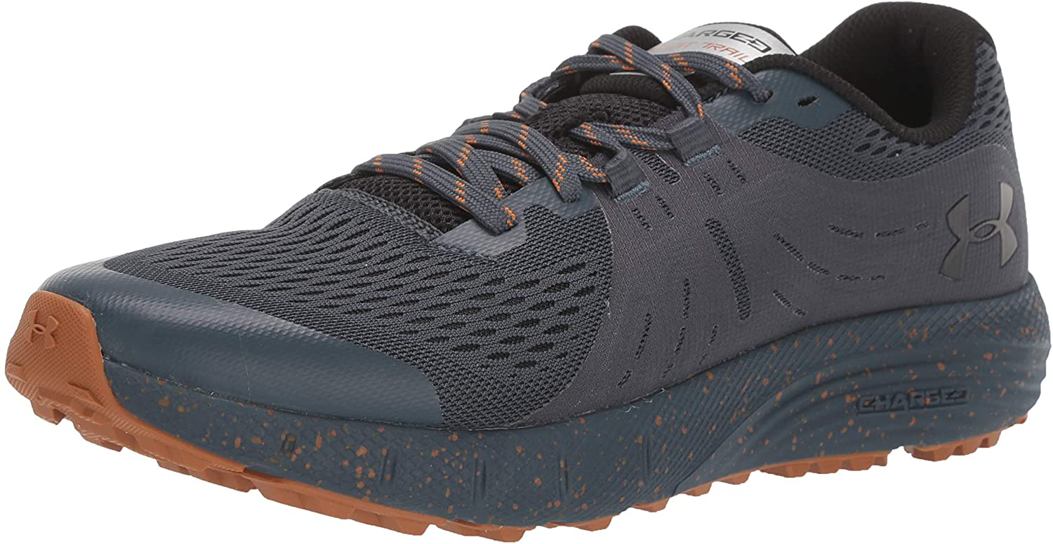Under Armour Men's Charged Bandit Trail Sneaker, Wire (400)/Black, 7.5
