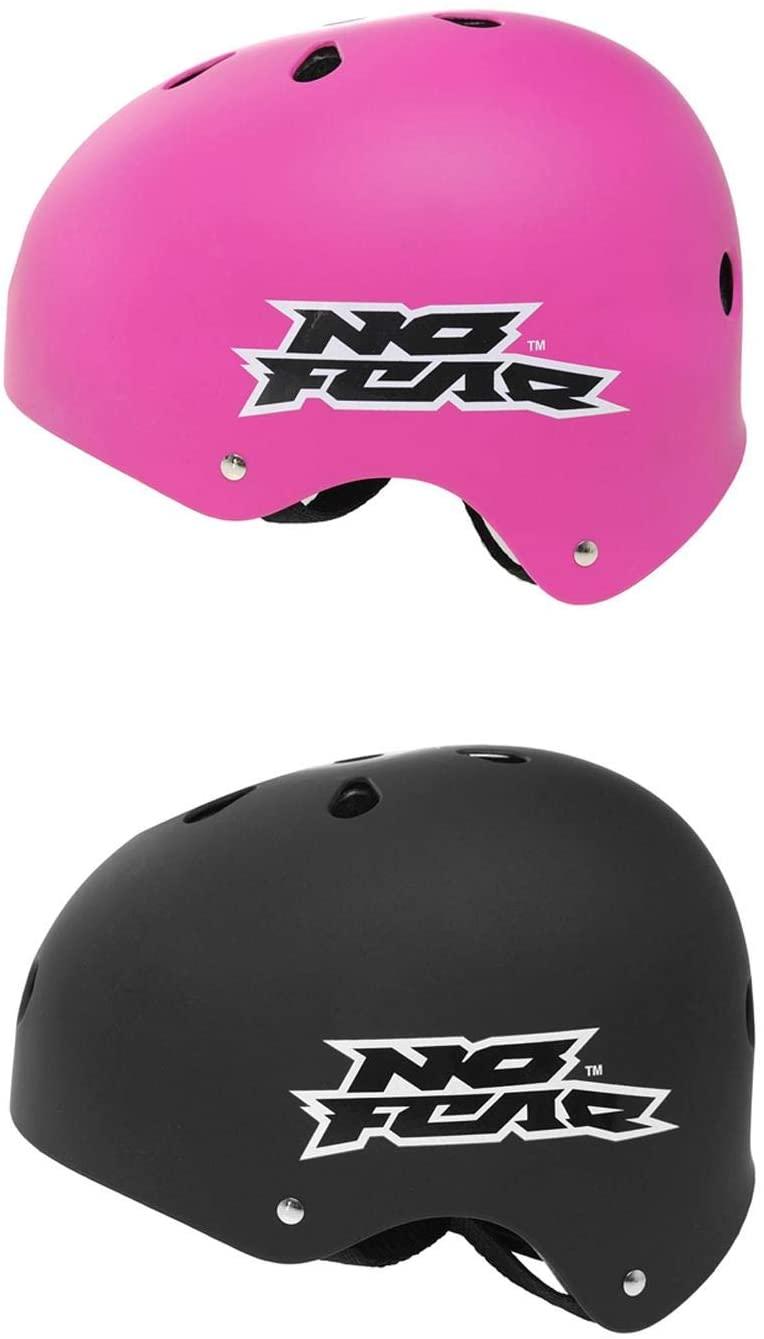 No Fear Skate Helmet Protective Gear Head Protection