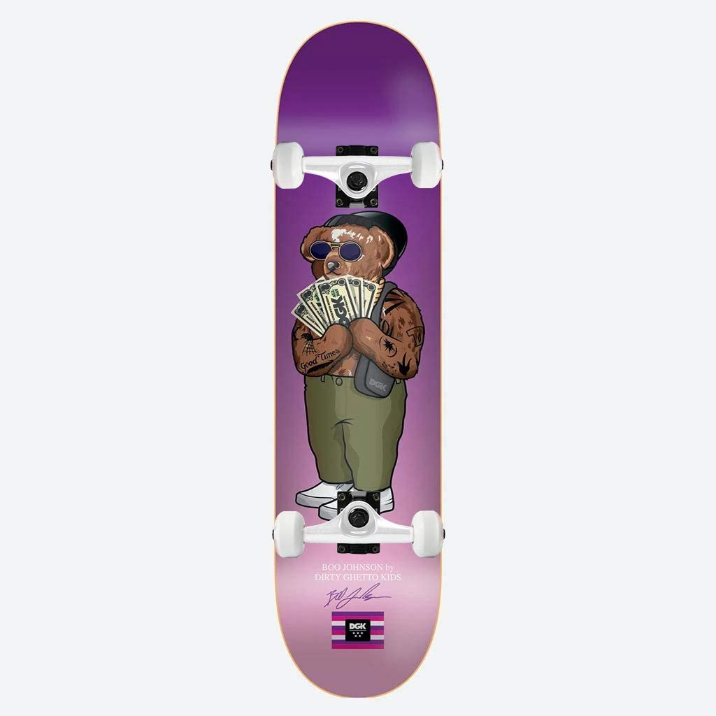 DGK Skateboard Assembly Masked Boo Johnson 8.25
