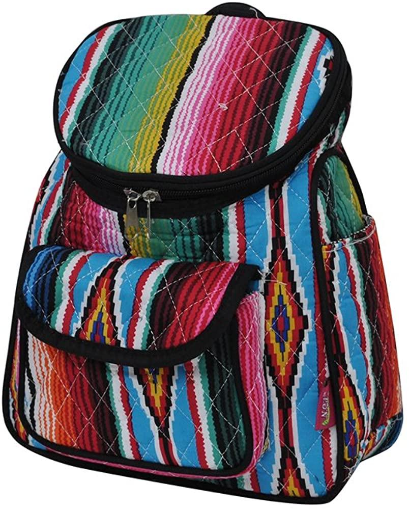 Serape NGIL Quilted Mini Backpack