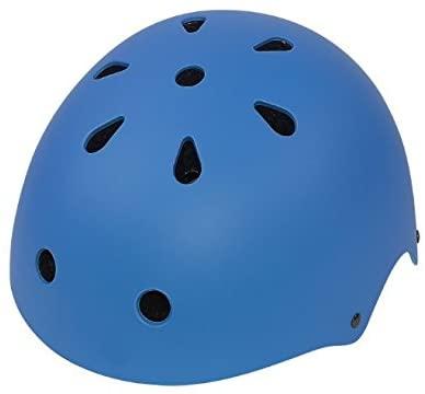 roadkey Children Helmet Junior Sliding Helmets Skiing Sports Skateboard Helmet Blue