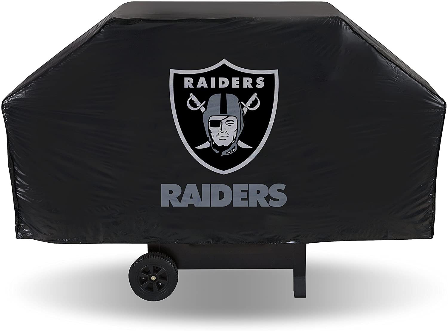 NFL Rico Industries Vinyl Grill Cover, Oakland Raiders