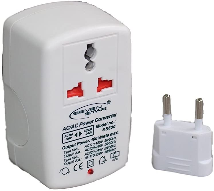 WGC 100 Watts Step UP and Down Voltage Transformer New Compact Design
