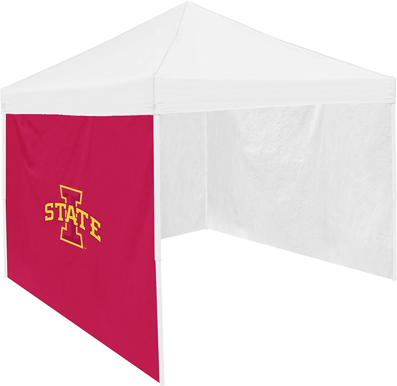 Logo Brands NCAA Iowa State Cyclones Adult Size Tailgate Canopy 9 x 9 Side Panel Tent