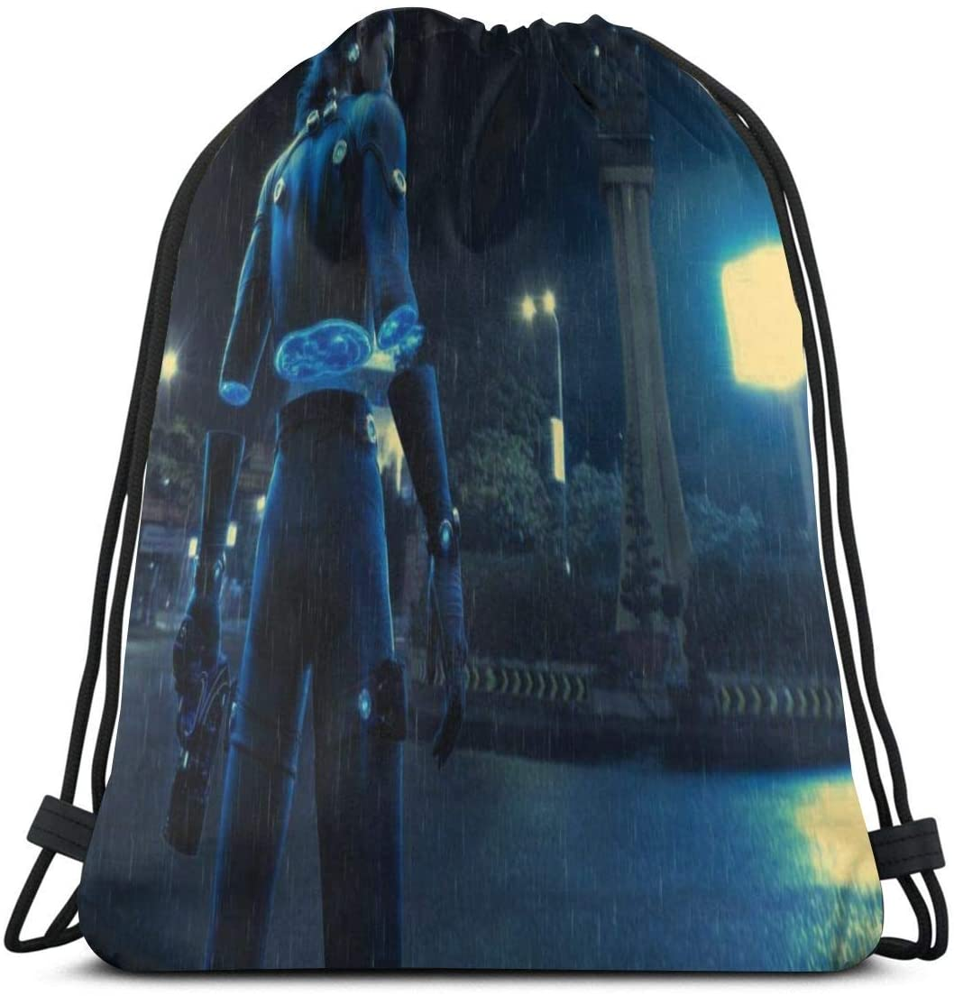 JIGFfkhal Anime Casual Beam Mouth Backpack Gantz Travel and Leisure Backpack