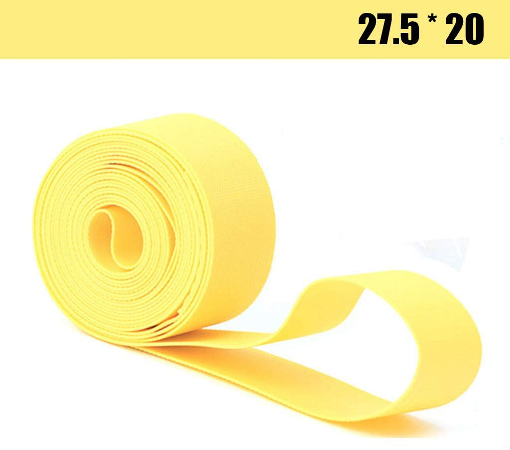 Bike Rim Tape,2 Pcs 1 Package Bicycle Rim Strip Rim Tape Tire Liner Protector Suitable for 27.5 inch Tires