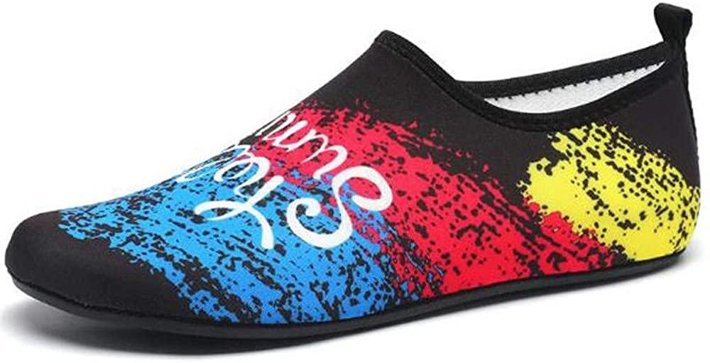 BDRunner Water Sports Shoes Barefoot Quick-Dry Aqua Yoga Socks Slip-on for Men Women Kids