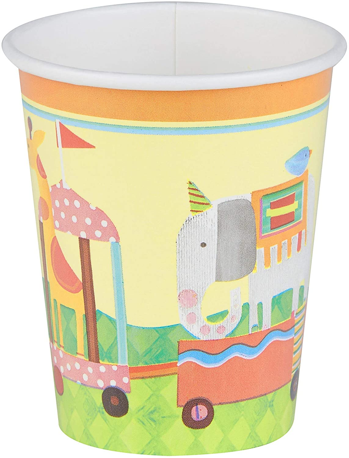 Circus Animal Paper Party Cups, 8 Ct.