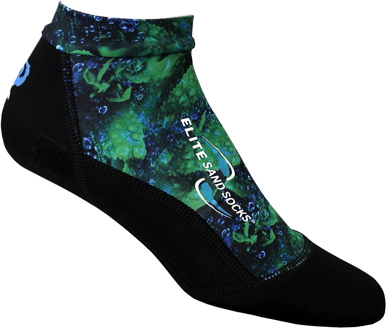 Sand Socks Elite (Rain Forest, Small)