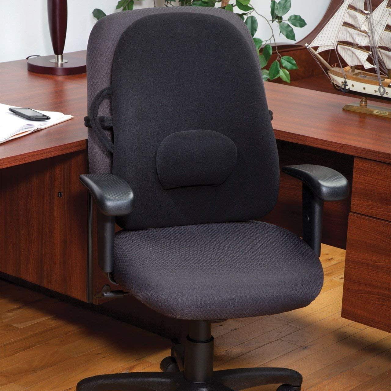 ObusForme Lowback Backrest Support - Black