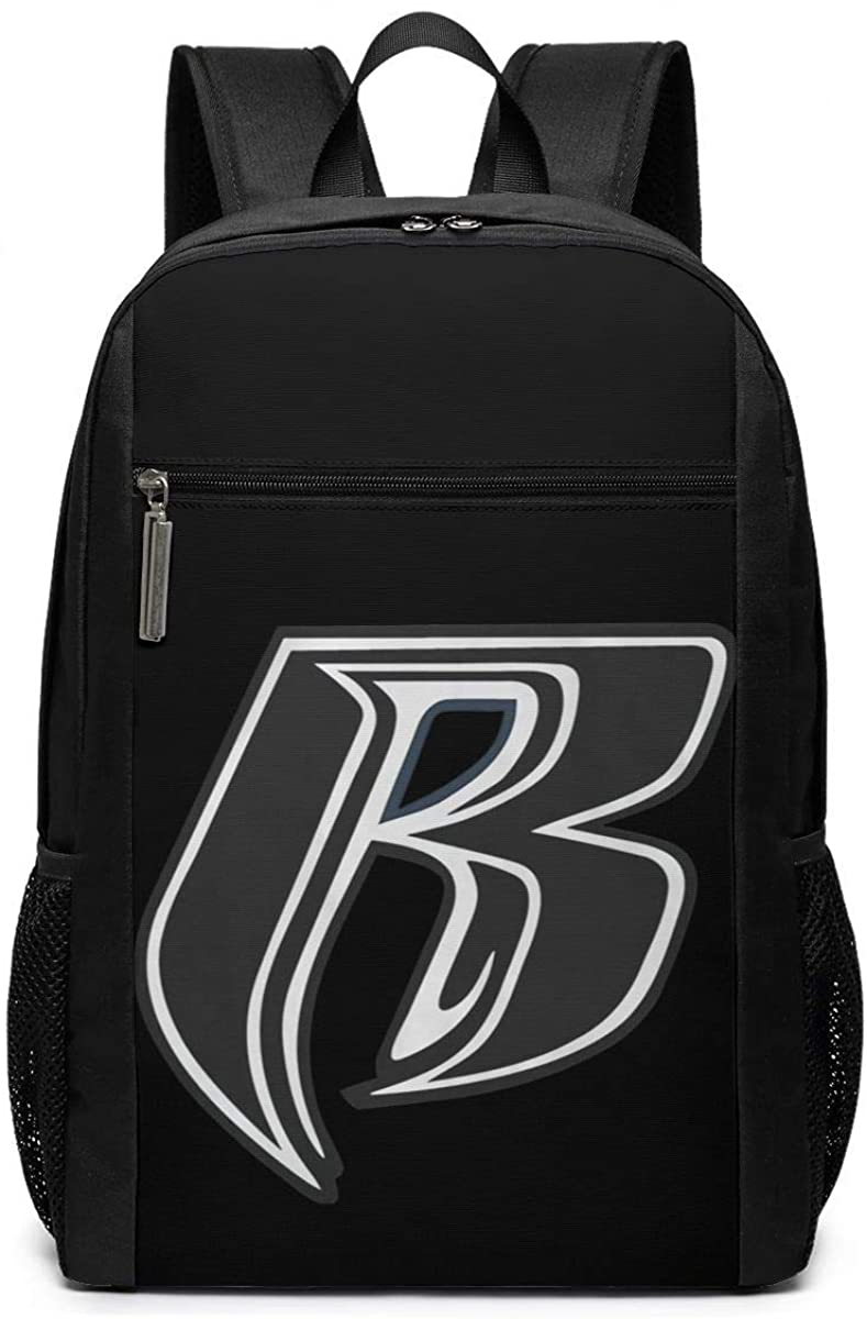 Ruff Ryders Logo Canvas Backpacks For Men Women - Casual Daypacks Rucksack Bags,Multi-purpose