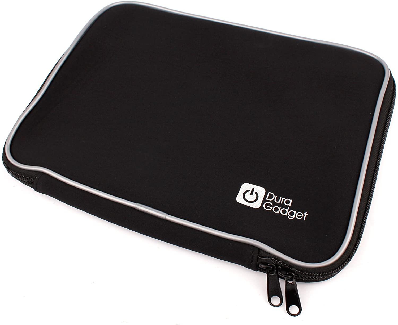 DURAGADGET Sleek Black Water Resistant Neoprene Protective Laptop Sleeve - Suitable for HP 17.3