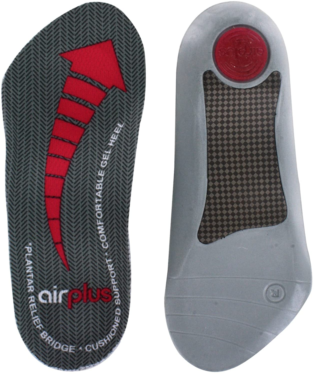 Airplus Plantar Fasciitis Orthotic Shoe Insole for Extra Cushioning and Pain Relief, Women's, Size 5-11