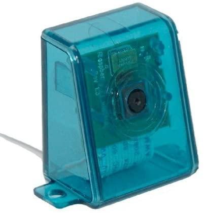 sb components Raspberry Pi Camera Case/Enclouser - Blue Transparent Assemble in 30 secs