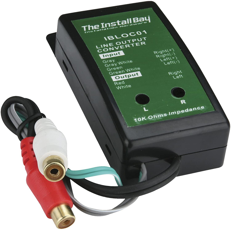 Install Bay IBLOC01 2 Channel Adjustable Line Level Convertor 40 Watt Each