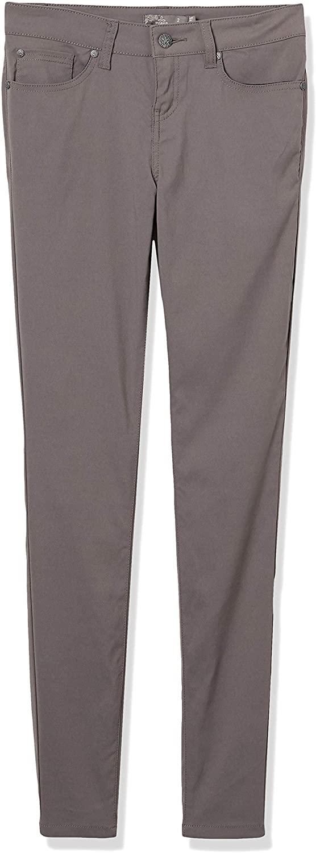 prAna - Womens Briann Pant, Tall Inseam, Moonrock, 14