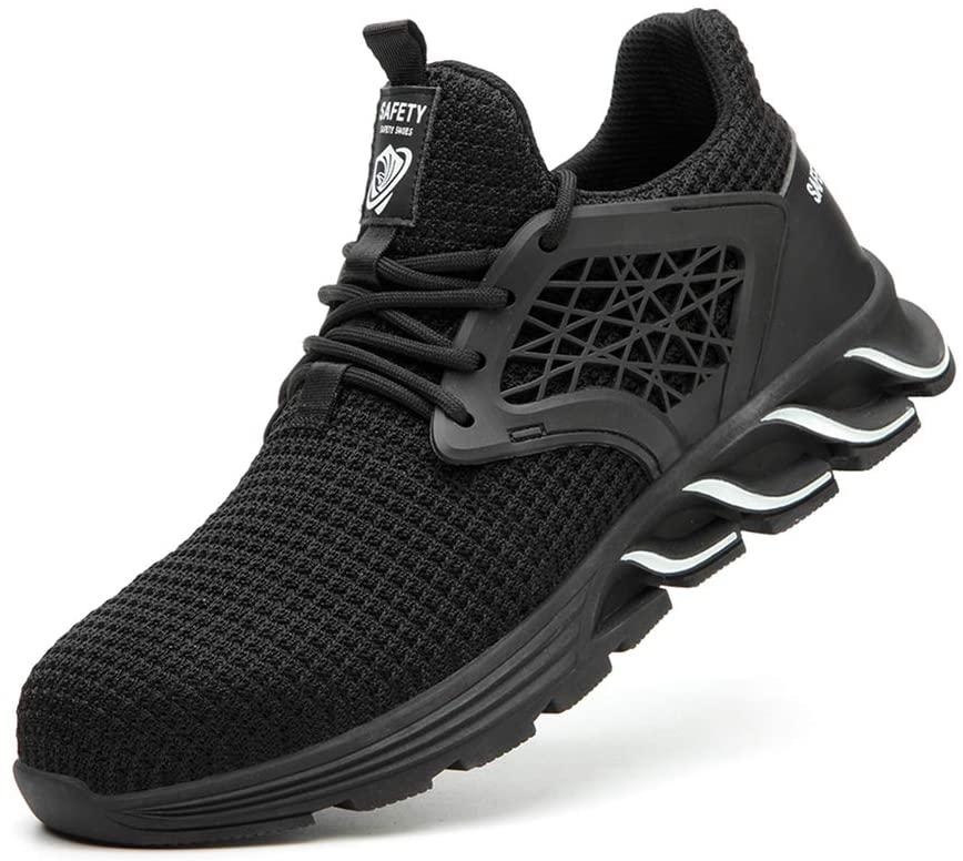 WAWB Hiking Shoes Men Summer Trek Shoes mesh Vamp to Breathable Non-Slip Comfortable Sports Skiing Climbing,42