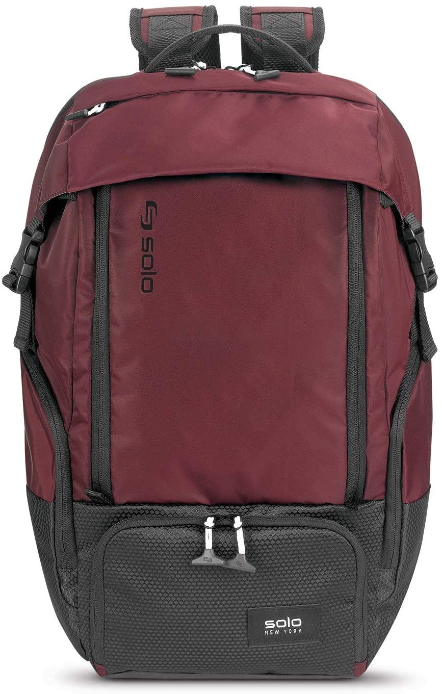 Solo Elite Backpack, Burgundy
