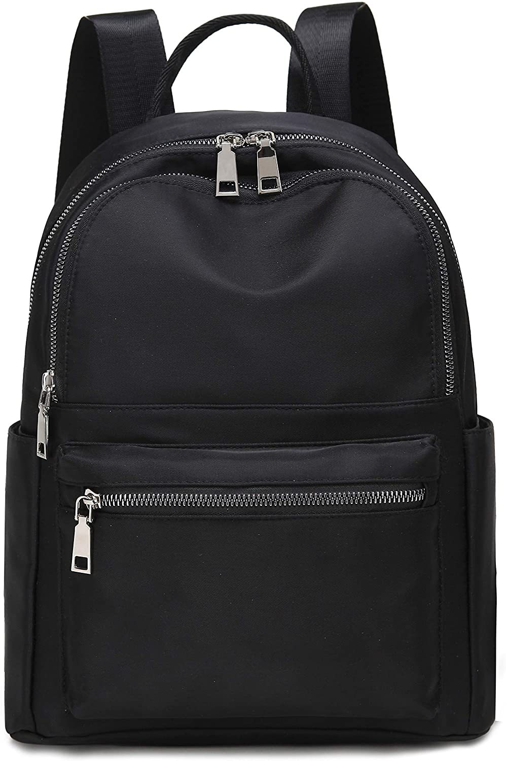 Fashion Backpack For Women Medium Size Black for Women Girls Lightweight and Water Resistant