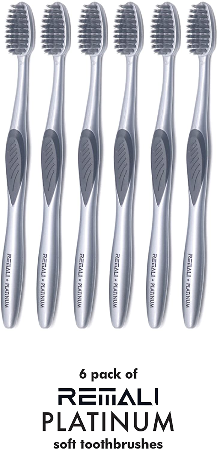 REMALI toothbrushes 6 pack