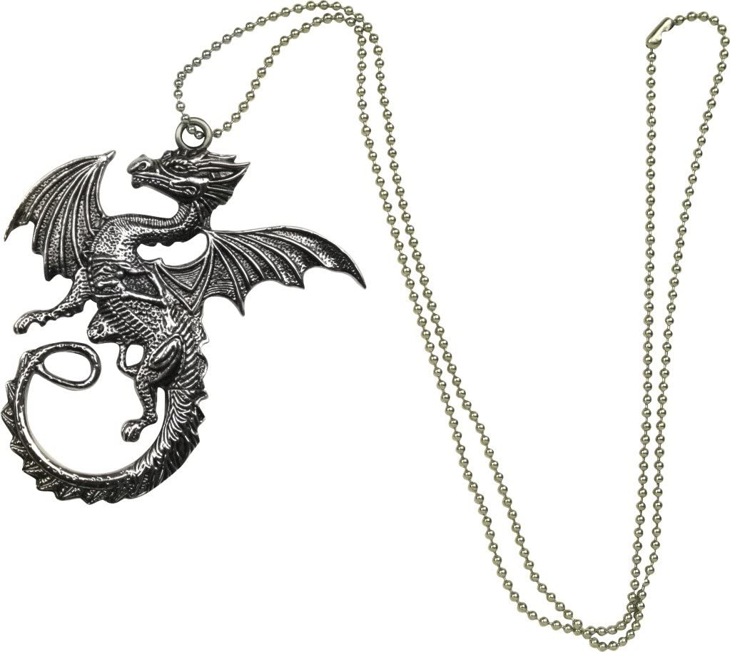 BladesUSA FM-426 Fantasy Necklace Knife (3.75-Inch Overall)