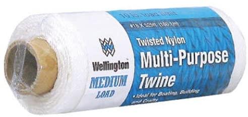 LEHIGH GROUP 10484 LEHIGH GROUP 10484 White Twisted Nylon Seine Twine, 525 Ft.