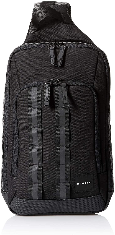 Oakley Utility One-Shoulder Bag with Media Pockets - Reflective Details - Sling Bag for Men - Crossbody Backpack with Strap and Phone Pocket - One-Shoulder Bag