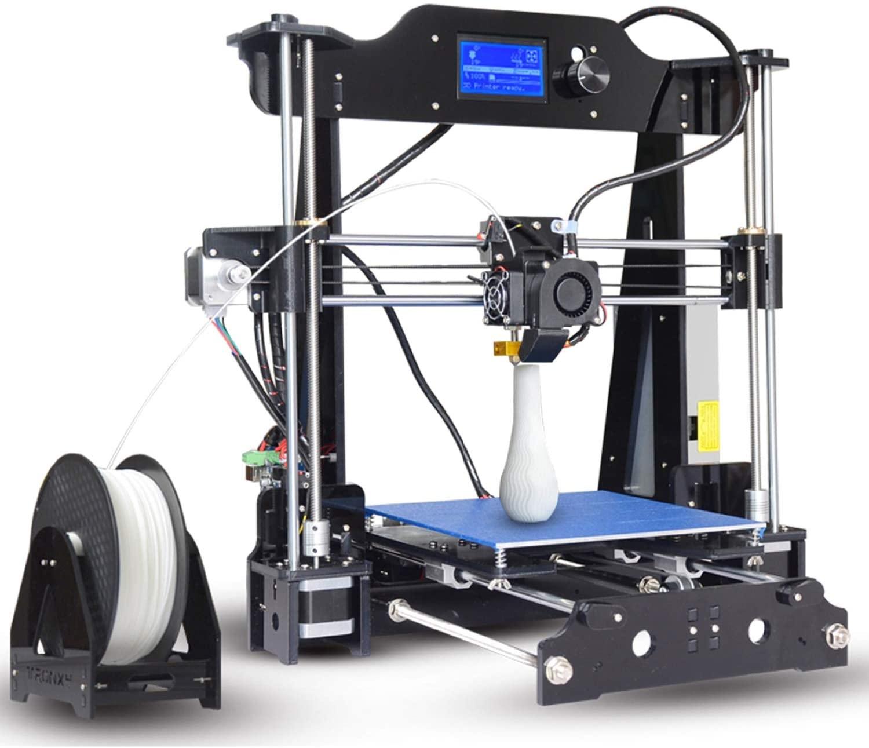 Elegdy X8 3D Printer Precision High Speed Large 3D Printers Kit Impresora Acrylic Frame