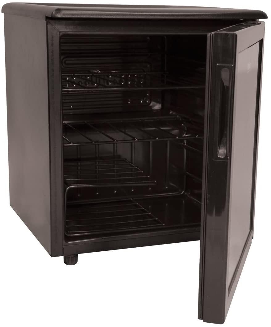 Haier HBCN02EBB 1-4/5-Cubic-Foot 42-Can Flat-Black Beverage Center