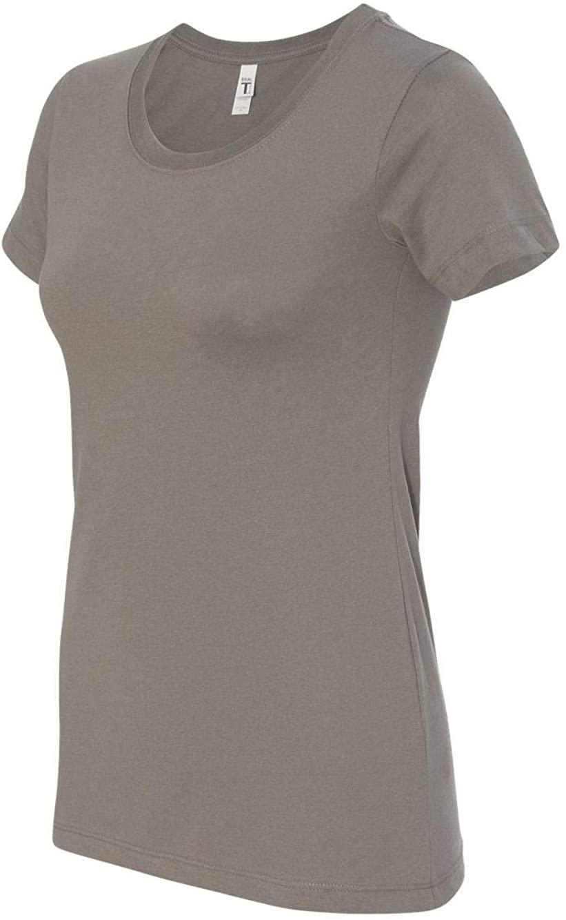 Next Level Womens Ideal Short-Sleeve Crew Tee (N1510) Warm Gray XL