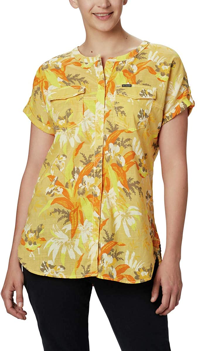 Columbia Womens Camp Henry Relaxed Shirt