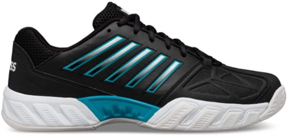 K-Swiss Performance Mens Bigshot Light 3 Tennis Shoe, Black