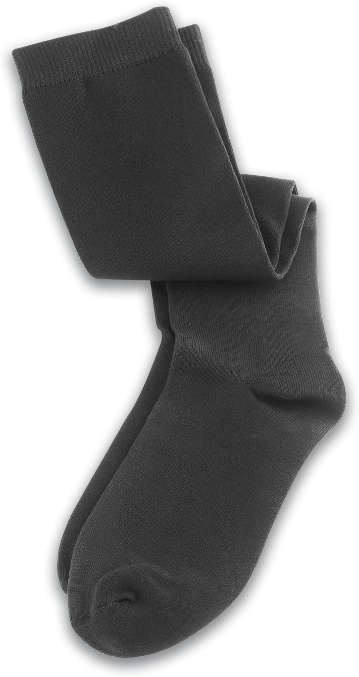 Lewis N. Clark Travel Compression Socks,Black,Large