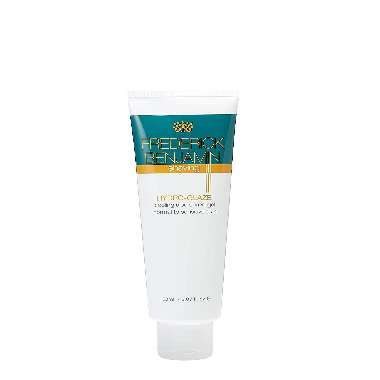 Frederick Benjamin Aloe Vera Shaving Gel for Men, All Natural Shave Gel for Sensitive Skin, 5 Ounce
