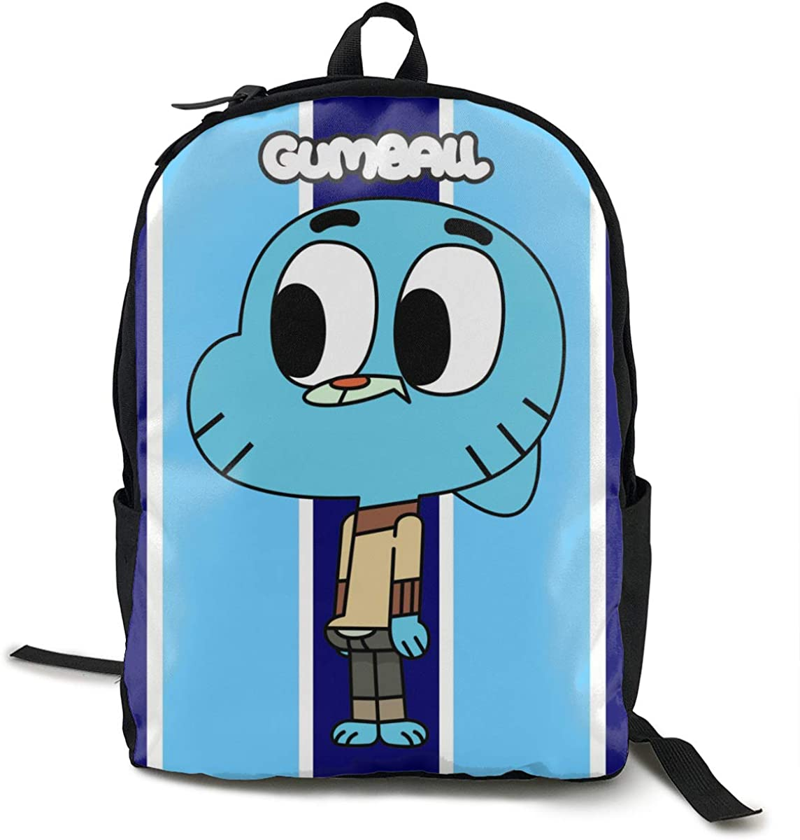 ETeebag Unisex Backpack Cool Teenager The Amazing World Of Gumball Black