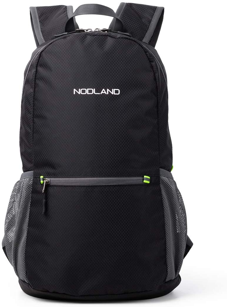 NODLAND Lightweight Backpack, 20L Foldable Ultralight Hiking Daypack Packable