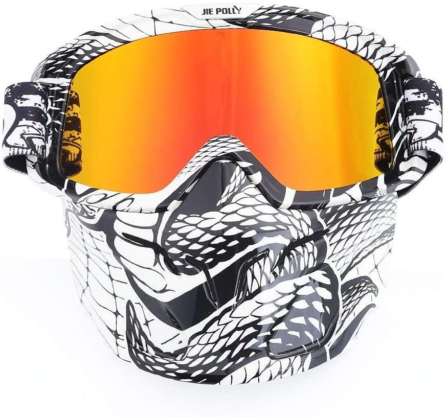 Home bathroom products Motocross Goggles, Motocross Goggles, Retro Goggles, Helmet Windproof, A04 Color Film