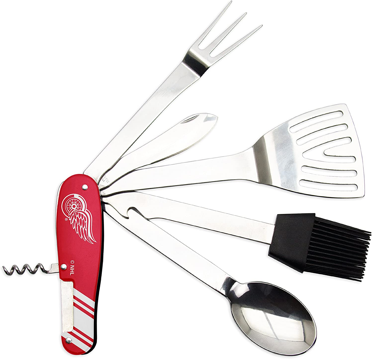 NHL Unisex The Sports Vault NHL Barbecue Multi-Tool