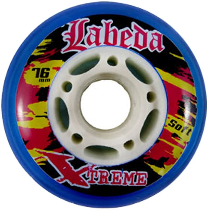 Labeda Single Wheel 76mm 78A Extreme Soft Blue Inline Indoor Hockey