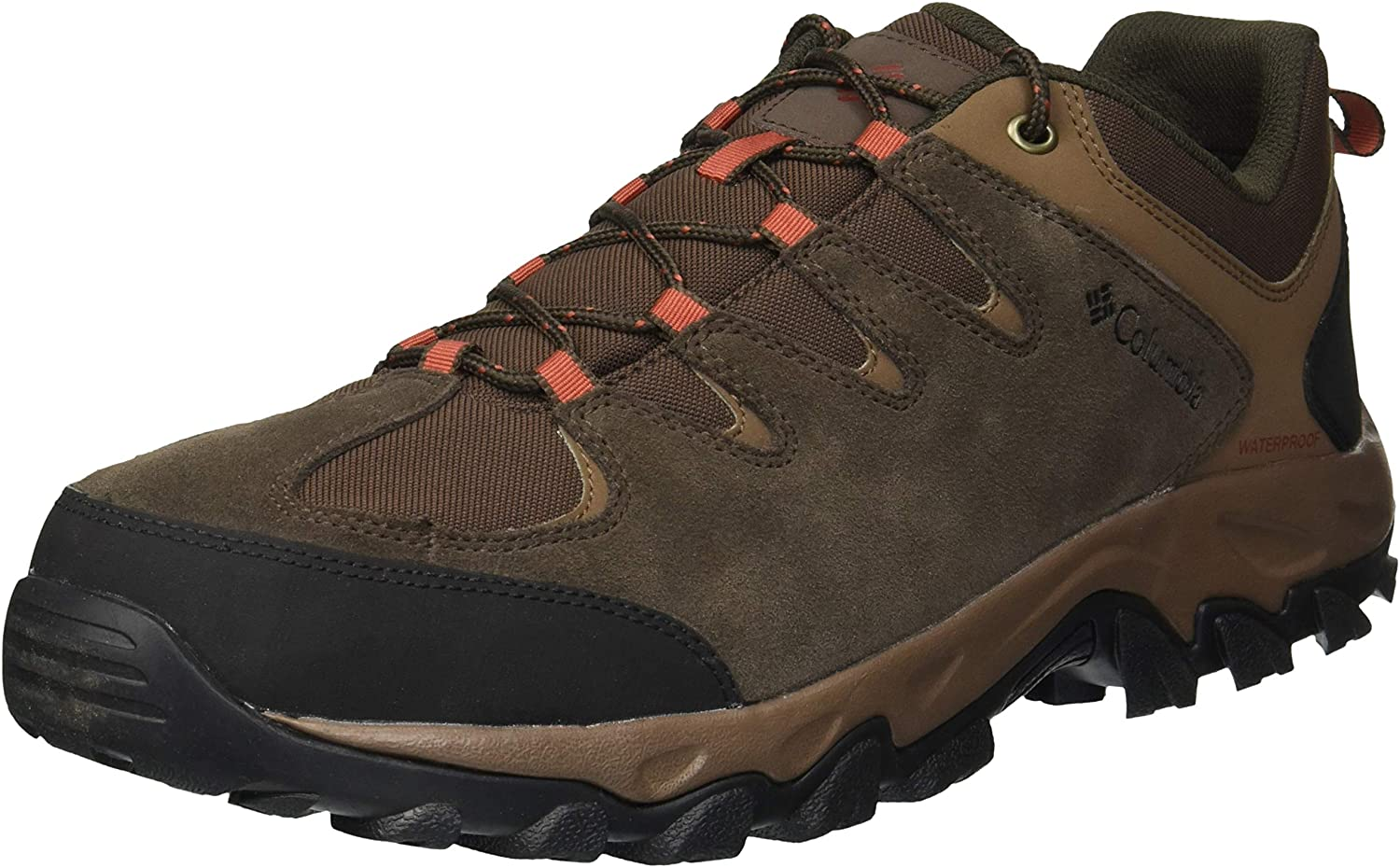 Columbia Men's Buxton Peak Waterproof Hiking Shoe, Breathable, High-Traction Grip